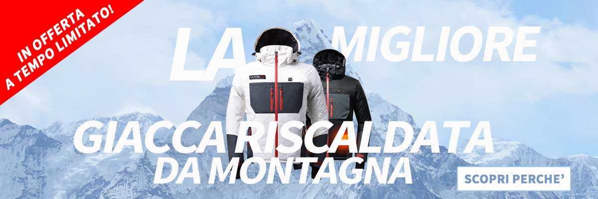 banner giacca montagna